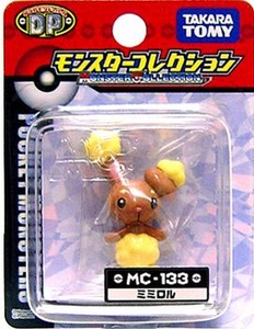 Pokemon Diamond & Pearl Japanese PVC Figure Collection MC-133 Bunneary
