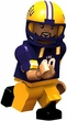 OYO Poseable Building Brick Style Minifigures College Football Mini Figures