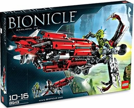 LEGO Bionicle Set #8943 Axalara T9