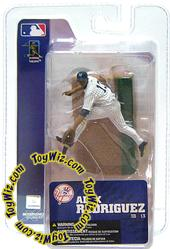McFarlane Toys MLB 3 Inch Sports Picks Series 3 Mini Figure Alex Rodriguez 2 (New York Yankees)