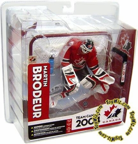 McFarlane Toys NHL Sports Picks Team Canada Action Figure Martin Brodeur