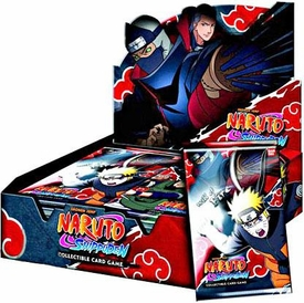 Naruto Shippuden Card Game Will of Fire Booster BOX [24 Packs]