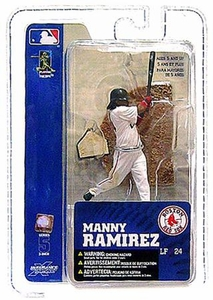 McFarlane Toys MLB 3 Inch Sports Picks Series 5 Mini Figure Manny Ramirez (Boston Red Sox)