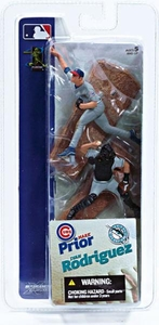 McFarlane Toys MLB 3 Inch Sports Picks Series 1 Mini Figure 2-Pack Mark Prior (Chicago Cubs) & Ivan Rodriguez (Florida Marlins)
