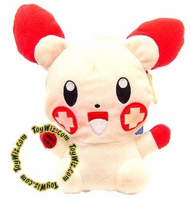 Pokemon Banpresto 5 Inch Plush Light-Up Pouch Figure Plusle