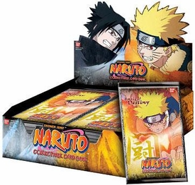 Naruto Card Game Battle of Destiny Booster BOX [24 Packs] BLOWOUT SALE!