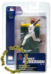 McFarlane Toys MLB 3 Inch Sports Picks Series 4 Mini Figure Garret Anderson (Anaheim Angels)