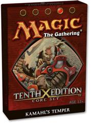 Magic the Gathering Tenth (10th) Edition Theme Deck Kamahl's Temper