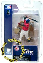 McFarlane Toys MLB 3 Inch Sports Picks Series 4 Mini Figure David Ortiz (Boston Red Sox)