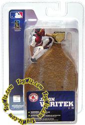 McFarlane Toys MLB 3 Inch Sports Picks Series 4 Mini Figure Jason Varitek (Boston Red Sox)