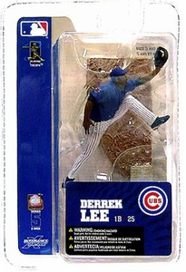 McFarlane Toys MLB 3 Inch Sports Picks Series 5 Mini Figure Derrek Lee (Chicago Cubs)