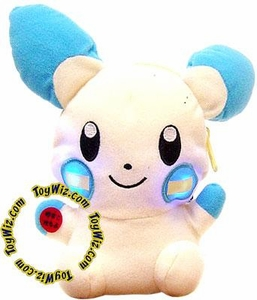 Pokemon Banpresto Plush Light-Up Pouch Figure Minun