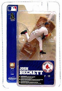 McFarlane Toys MLB 3 Inch Sports Picks Series 5 Mini Figure Josh Beckett (Boston Red Sox)