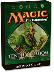 Magic the Gathering Tenth (10th) Edition Theme Deck Molimo's Might
