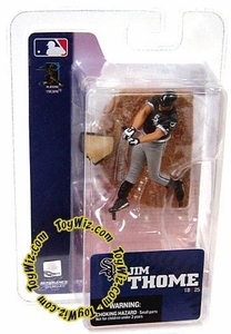 McFarlane Toys MLB 3 Inch Sports Picks Series 4 TRU EXCLUSIVE Mini Figure Jim Thome (Chicago White Sox)