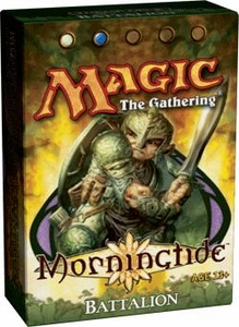 Magic the Gathering Morningtide Theme Deck Battalion