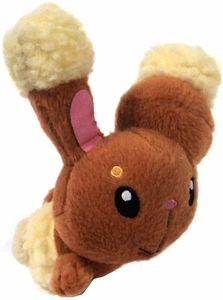 Pokemon DP Japanese Banpresto 5 Inch Plush Figure Buneary [Laying Down]
