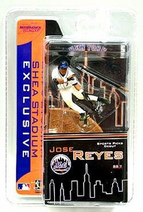 McFarlane Toys 2007 Shea Stadium Exclusive Giveaway MLB 3 Inch Sports Picks Mini Figure Jose Reyes (New York Mets)