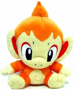 Pokemon Japanese Takara Tomy 5 Inch Plush Figure Chimchar