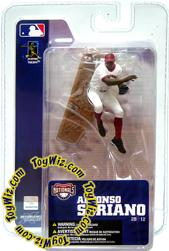 McFarlane Toys MLB 3 Inch Sports Picks Series 4 Mini Figure Alfonso Soriano (Washington Nationals)