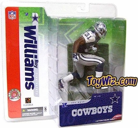 McFarlane Toys NFL Sports Picks Series 10 Action Figure Roy Williams (Dallas Cowboys) Blue Jersey Variant