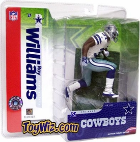 McFarlane Toys NFL Sports Picks Series 10 Action Figure Roy Williams (Dallas Cowboys) White Jersey