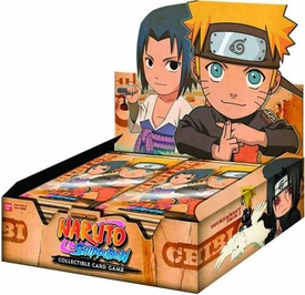 Naruto Shippuden Card Game Chibi Tournament Series 2 Booster BOX [24 Packs]