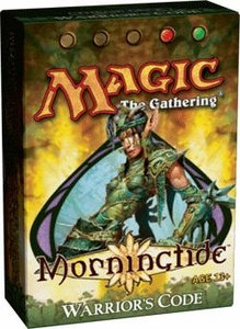 Magic the Gathering Morningtide Theme Deck Warrior's Code