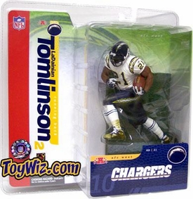 McFarlane Toys NFL Sports Picks Series 10 Action Figure LaDainian Tomlinson (San Diego Chargers) White Jersey Variant