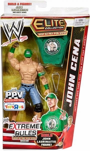Mattel WWE Wrestling Exclusive Elite Extreme Rules 2012 Action Figure John Cena [Build John Laurinaitis!] BLOWOUT SALE!