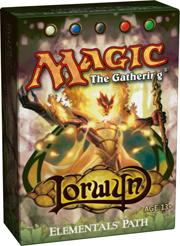 Magic the Gathering Lorwyn Theme Deck Elementals Path
