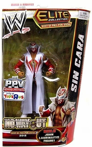 Mattel WWE Wrestling Exclusive Elite No Way Out 2012 Action Figure Sin Cara [Build John Laurinaitis!]
