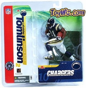 McFarlane Toys NFL Sports Picks Series 10 Action Figure LaDainian Tomlinson (San Diego Chargers) Blue Jersey BLOWOUT SALE!
