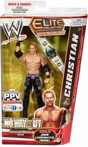 Mattel WWE Wrestling Exclusive Elite No Way Out 2012 Action Figure Christian [Build John Laurinaitis!]