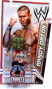 Mattel WWE Wrestling Exclusive Tribute To The Troops Action Figure Randy Orton [Green Vest]