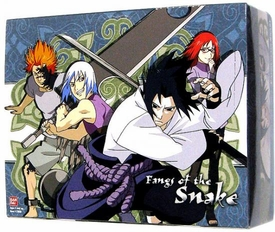 Naruto Shippuden Card Game Fangs of the Snake Booster Box [24 Packs]