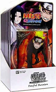 Naruto Shippuden Card Game Fateful Reunion Blister Box [15 Booster Packs]
