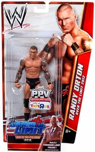 Mattel WWE Wrestling Exclusive Over The Limit 2012 Action Figure Randy Orton [Build Theodore Long!]