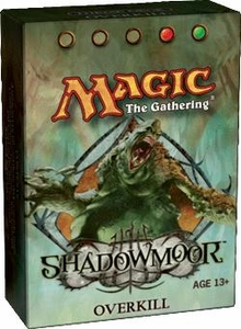 Magic the Gathering Shadowmoor Theme Deck Overkill