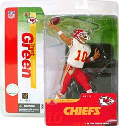 McFarlane Toys NFL Sports Picks Series 10 Action Figure Trent Green (Kansas City Chiefs) White Jersey Variant