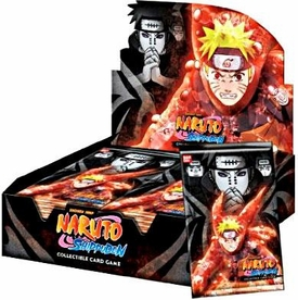 Naruto Shippuden Card Game Path of Pain Booster Box [24 Packs]