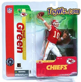 McFarlane Toys NFL Sports Picks Series 10 Action Figure Trent Green (Kansas City Chiefs) Red Jersey