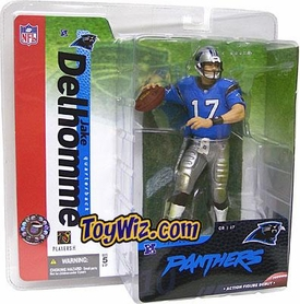McFarlane Toys NFL Sports Picks Series 10 Action Figure Jake Delhomme (Carolina Panthers) Blue Jersey Variant