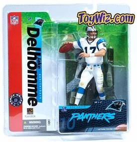 McFarlane Toys NFL Sports Picks Series 10 Action Figure Jake Delhomme (Carolina Panthers) White Jersey BLOWOUT SALE!