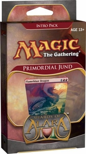 Magic the Gathering Shards of Alara Theme Deck Intro Pack Primordial Jund