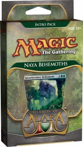 Magic the Gathering Shards of Alara Theme Deck Intro Pack Naya Behemoths