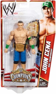 Mattel WWE Wrestling Exclusive Champions Action Figure John Cena [WWE Championship Belt]