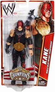Mattel WWE Wrestling Exclusive Champions Action Figure Kane [World Heavyweight Championship Belt]