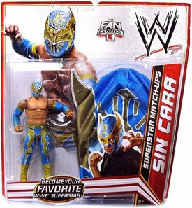 Mattel WWE Wrestling Exclusive Superstar Match-Ups Sin Cara [Action Figure & Mask] BLOWOUT SALE!