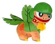 Pokemon Japanese Banpresto 5 Inch Beach Theme Plush Figure Tropius [With Star Necklace]